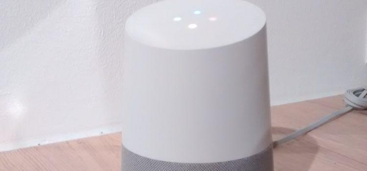 Google Home Sprachassistent