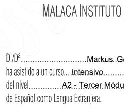 Sprachkurs in Málaga
